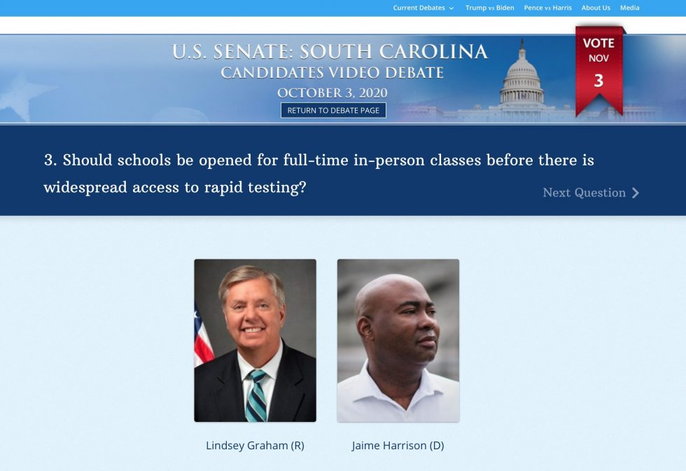 New Ultra-Accessible Candidates Video Debate System Launches for All Close Senate Races